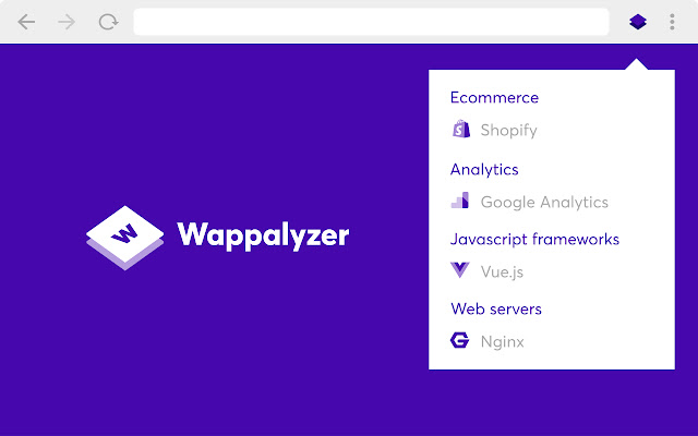 Wappalyzer Chrome Extensions